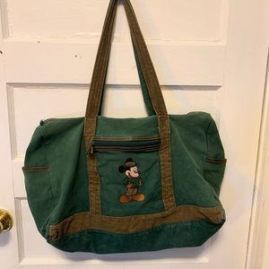 Vintage Official Disney Mickey Mouse Tote